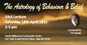 VAA Meeting April 2015