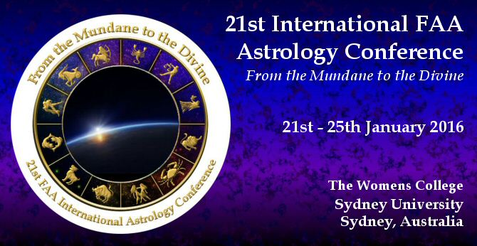 21st International FAA Astrology Conference