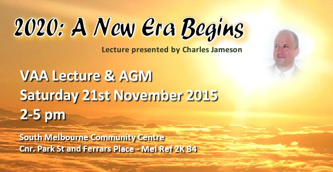 VAA AGM and Lecture Meeting November 2015