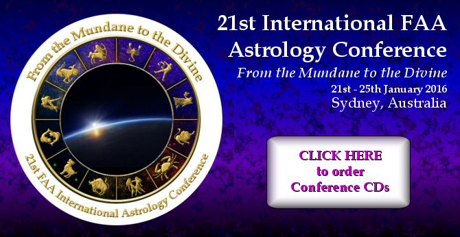 2016 FAA Astrology Conference CDs