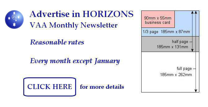 Advertise in Horizons