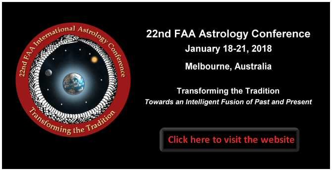 22nd FAA Astrology Conference