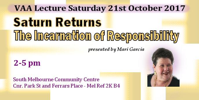 VAA Lecture Meeting October 2017