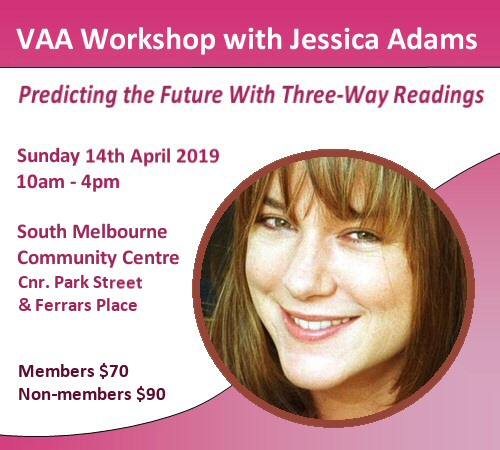 VAA Workshop Jessica Adams April 2019