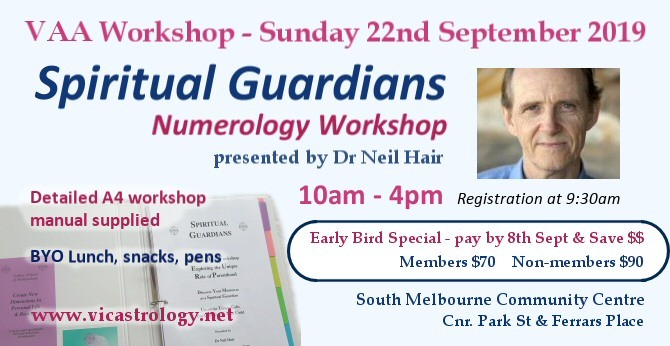 neil hair numerology workshop september 2019